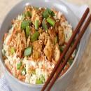 Cơm rang gà teriyaki ngon miệng hấp dẫn cho ngày cuối tuần