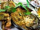 Sam biển nướng - đặc sản nổi tiếng Cát Bà