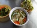 Hương vị biển trong món bún sứa Nha Trang