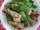 Nhớ hương vị thịt gà tre lá cách