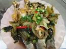 Cá đối kho dưa cải, thơm nồng tình quê!