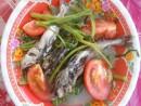Hương vị cá út nấu canh chua rau muống