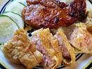 Váng đậu cuộn tôm chiên