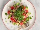 Salad dưa hấu bơ