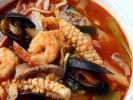 Mì hải sản cay kiểu Hàn