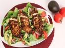 Salad gà cay và trái bơ
