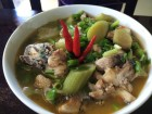 Mùa thu xứ Huế nhớ canh chột nưa nấu cá lóc đồng