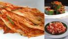 Kim chi củ cải, cải thảo, dưa chuột