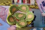 Làng làm bánh tét xanh như ngọc ở Quảng Trị