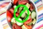 Cà chua không nên ăn với dưa chuột