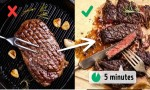 Những sai lầm trong nấu nướng làm hỏng món ăn của bạn