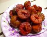 Mận dầm chua cay lay động vị giác