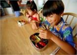 Tuyệt lạ những hộp cơm trưa của trẻ em Nhật