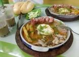 20 địa chỉ ăn bánh mì chảo siêu ngon ở Hà Nội