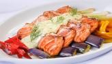 Cá hồi nướng xốt mayonnaisa