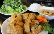 Nem vuông hải sản - món ăn cực ngon của người Hải Phòng