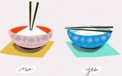 Sự khác biệt khi dùng đũa ở các nước châu Á