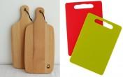 Thớt gỗ sạch hơn hay thợt nhựa sạch hơn