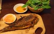 Cá tắc kè nướng và chả ốc cho bữa tối lạ miệng ở Sài Gòn
