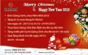 Đón Giáng sinh và năm mới với ẩm thực Nhật Hàn