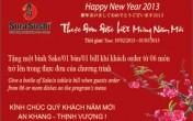 Năm mới nhiều may mắn với nhà hàng Sura Sushi
