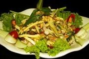 Món nhậu dân dã - Gỏi chuối xanh