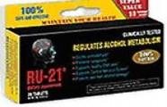 Hạn chế nhiếm độc rượu nhờ sản phẩm RU-21