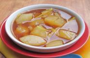 Món ngon mùa đông - chè sắn nóng