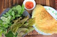 Sài Gòn lạnh nhớ bánh căn, bánh xèo Phan Rang