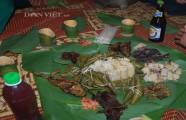 Độc đáo món bánh cuốt nơi rừng Trường Sơn