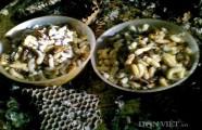 Nhớ thời bắt ong rừng về nấu món cháo nhộng