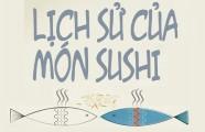 [Infographic] Lịch sử của món sushi