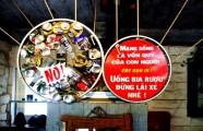 Quán cà phê cảnh báo tai nạn giao thông ở Đà Nẵng
