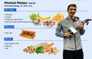 Chế độ ăn tạo nên tên tuổi những nhà vô địch Olympic