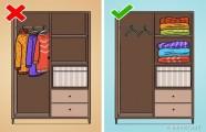 10 Lỗi cất quần áo trong tủ hầu hết ai cũng mắc phải