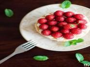 Cheesecake hoa quả