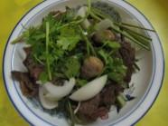 Bắp bò hấp sả - món ngon Tịnh Biên