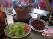 Đến Nha Trang thưởng thức vị Bò nướng Lạc Cảnh