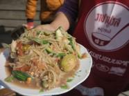 Sang Lào nhớ ăn nộm cà xanh