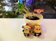 """Món """"chậu cây"""" ngon mới lạ tại Sài Gòn"""