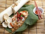 Gỏi củ hũ dừa - nét tinh hoa của ẩm thực Bến Tre