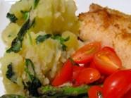 Cá hồi và măng tây nướng cho bữa tối ngon miệng