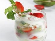 Trái cây trộn yaourt