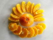 Cách cắt cam nhanh, đẹp