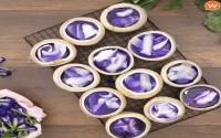 Công thức làm Thạch Dừa Hoa Đậu Biếc cực đẹp mắt