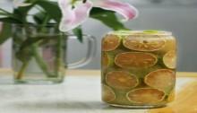Làm chanh đào ngâm mật ong nhanh gọn trong 10 phút