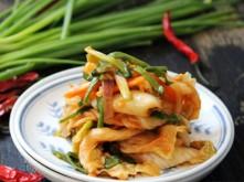Kim chi homemade