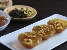 Thạch trà hoa cúc đánh thức vị giác, loại bỏ căng thẳng hiệu quả