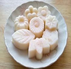 Pudding nhãn sữa dừa