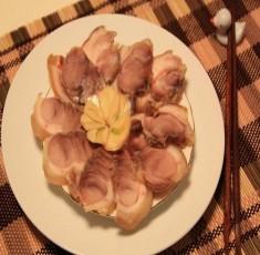 Thịt lợn luộc ngâm nước mắm